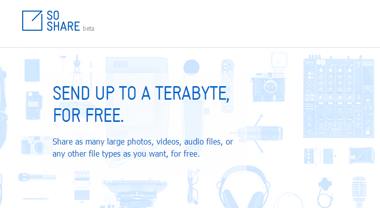 So Share (Upload Files Upto 1TB)