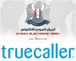 Truecaller Hacked By SEA (Syrian Electronic Army)