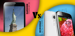 Karbonn S5 Titanium VS Micromax Canvas HD A116