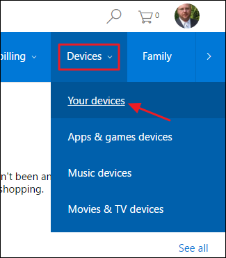 Devices Microsoft Account